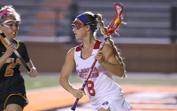 Offensive Surge Leads Women's Lacrosse Past GVSU