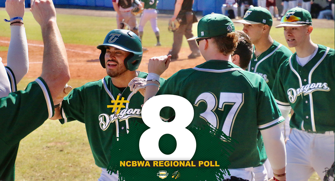 Baseball Ranked No. 8 in NCBWA Midwest Regional Poll