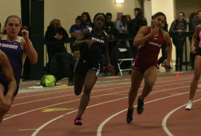 Streeter Breaks Pair of CAC Records at Boston University