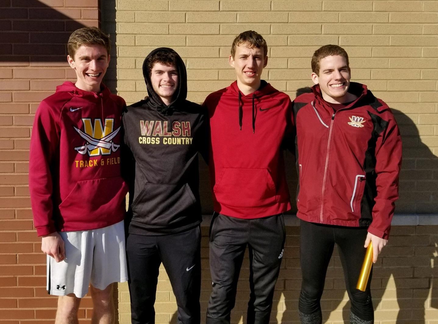 Men's Track Solid at Grand Valley and Oberlin