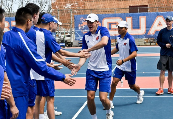 Men's Tennis Wins Third Annual Bear Cup