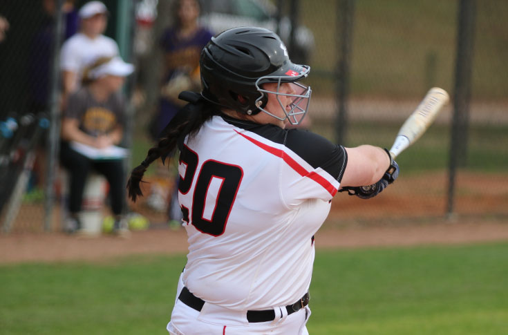Softball: Panthers sweep Covenant to run win streak to four