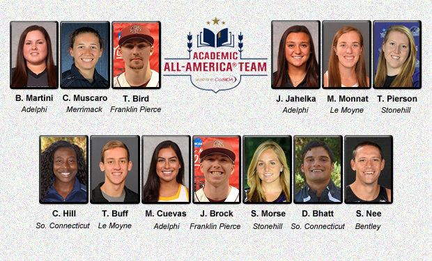 Thirteen NE-10 Student-Athletes Named CoSIDA Academic All-Americans