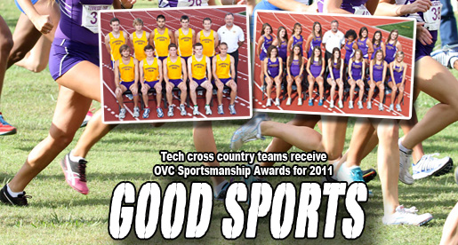 Golden Eagle cross country teams earn OVC Sportsmanship awards