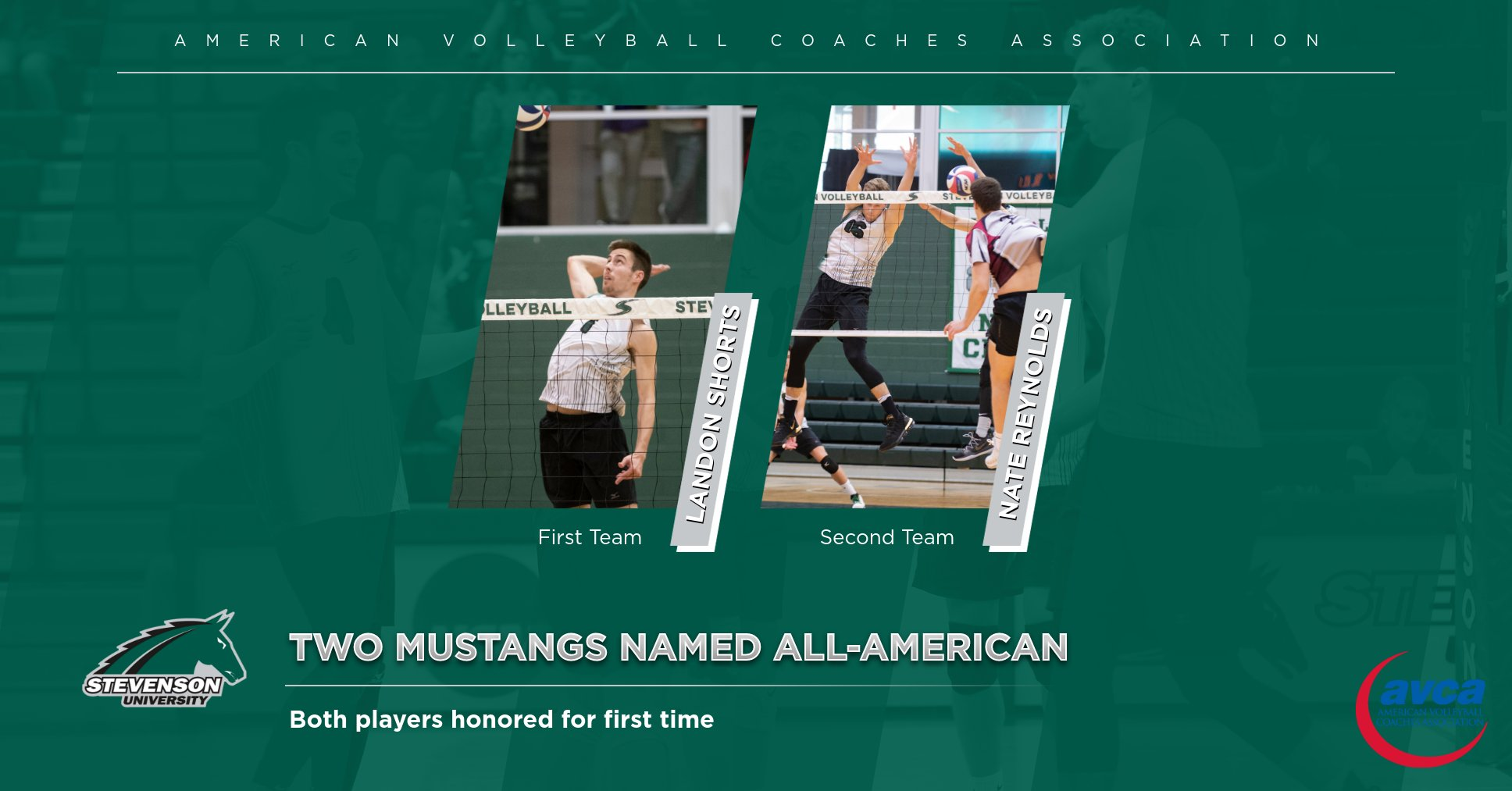 Shorts And Reynolds Named To AVCA All-American Teams
