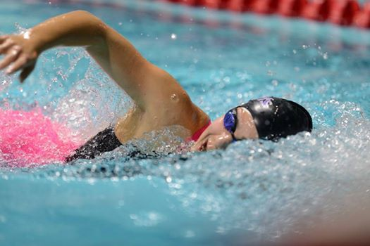 Senior Annagrazia Bonsanti Wins Two Events As UB Women's Swimming Falls In Dual Meet Versus LIU Post