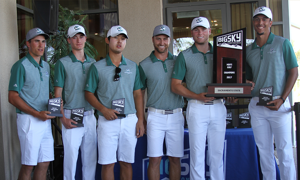 MEN'S GOLF WINS BIG SKY CHAMPIONSHIP; BEVERLY IS MEDALIST
