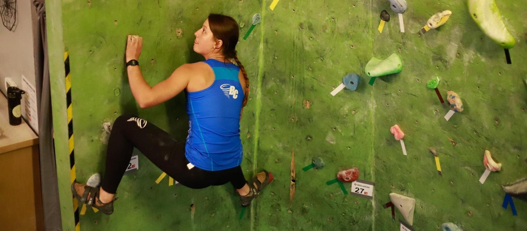 Brevard College Climbing Competes in Cullowhee; Next Up: Brevard Boulder Bash