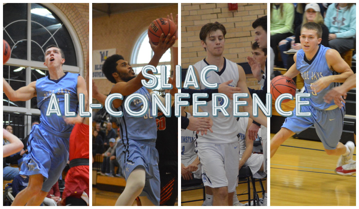 Four Named to SLIAC All-Conference Teams for Men's Basketball