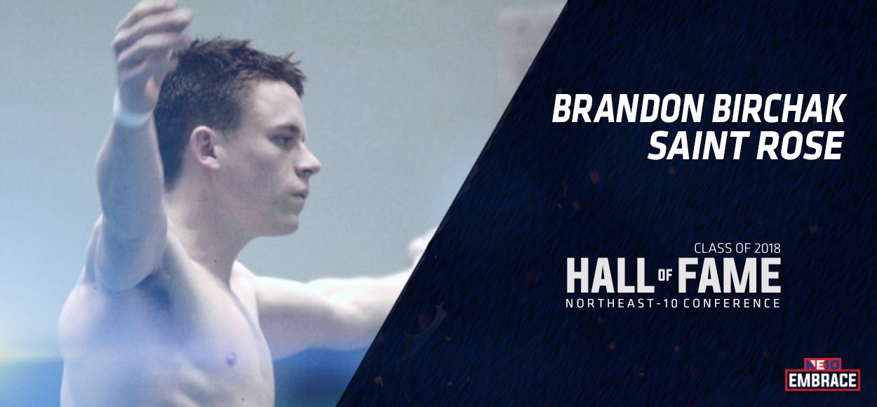 NE10 Hall of Fame Inductee: Brandon Birchak, Saint Rose Diving