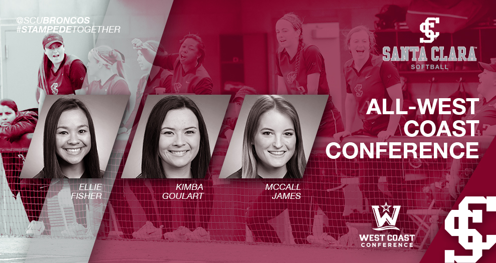 Softball Lands Three on All-WCC Teams