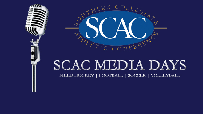 SCAC Media Days to Get Underway on Monday, August 29th