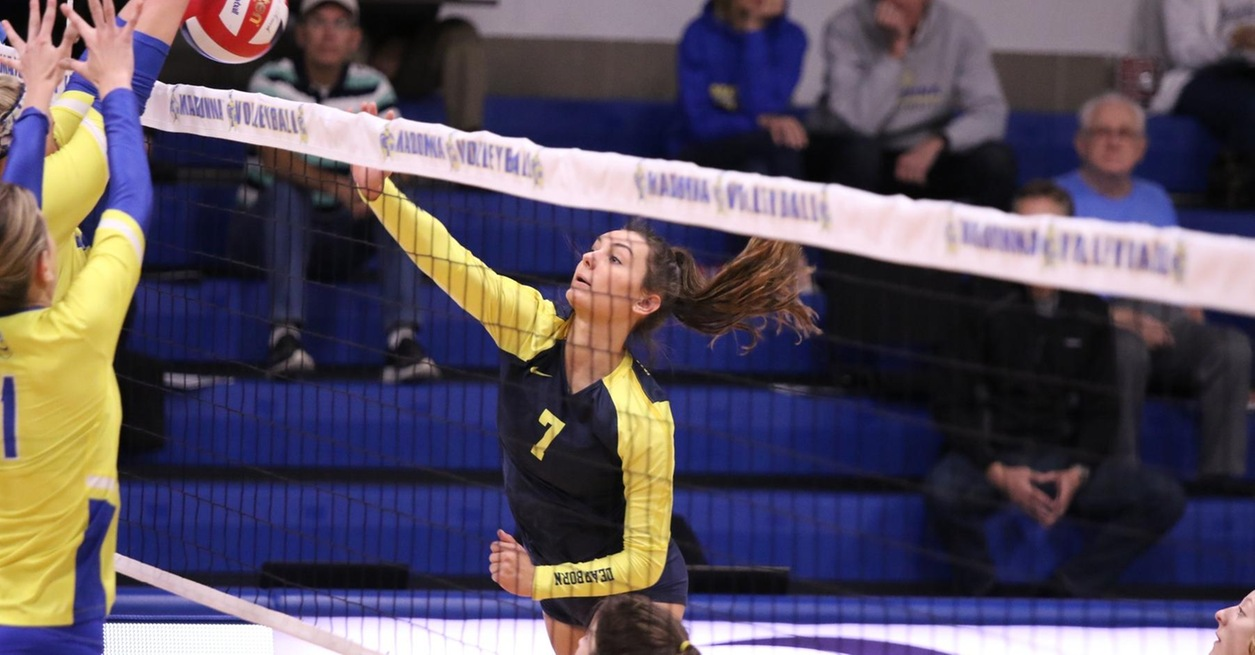 Wolverines fall in three at Madonna