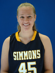 Simmons senior Stephanie Fox (West Springfield, Mass.) was named Basketball Player of the Week by the Great Northeast Athletic Conference for the week of January 18-24, 2010, the GNAC announced Monday evening.