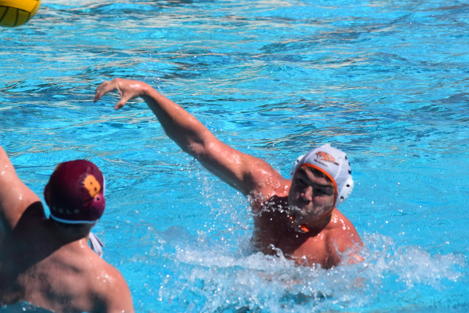 Men's Polo Stays Hot, Takes CMS to the Limit