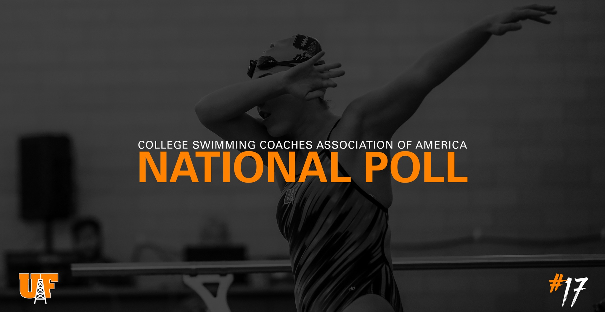 Women's Swimming & Diving Up to 17th in Poll