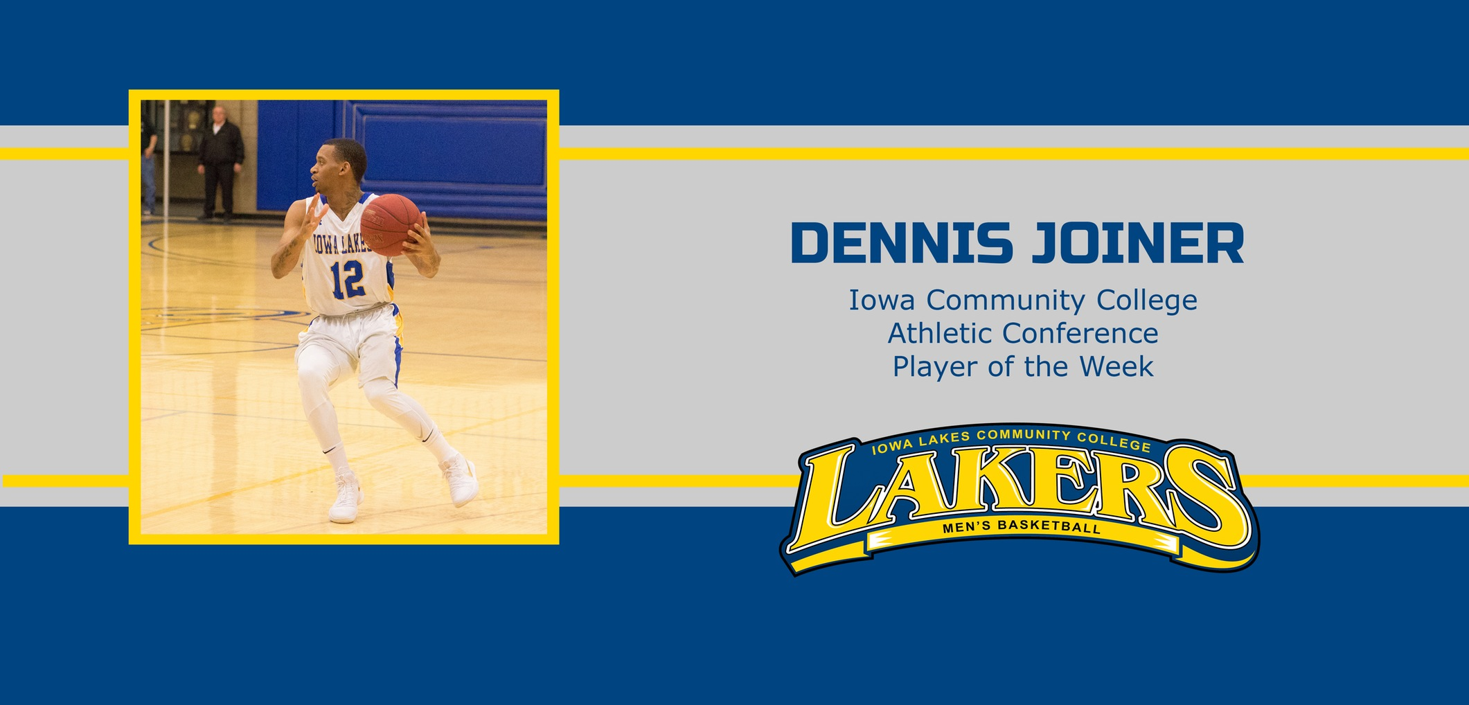 Joiner named ICCAC Athlete of the Week.