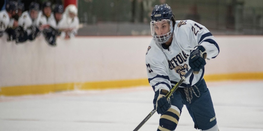 Men's Hockey Entertains USM, NEC this Weekend