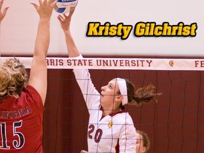 Kristy Gilchrist Receives GLIAC Honors For Second Consecutive Week