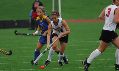 Field Hockey Blanks Yellow Jackets