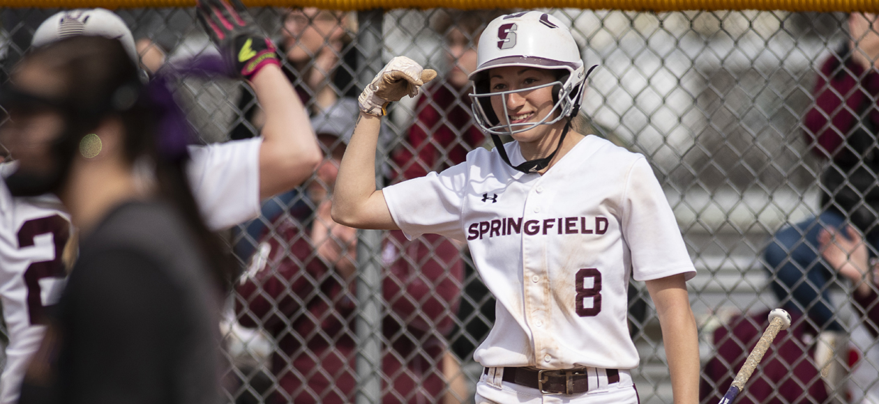 Softball Uses Long Ball to Split NEWMAC Doubleheader with Coast Guard
