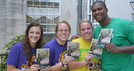 Four student-athletes contributors to book of writings