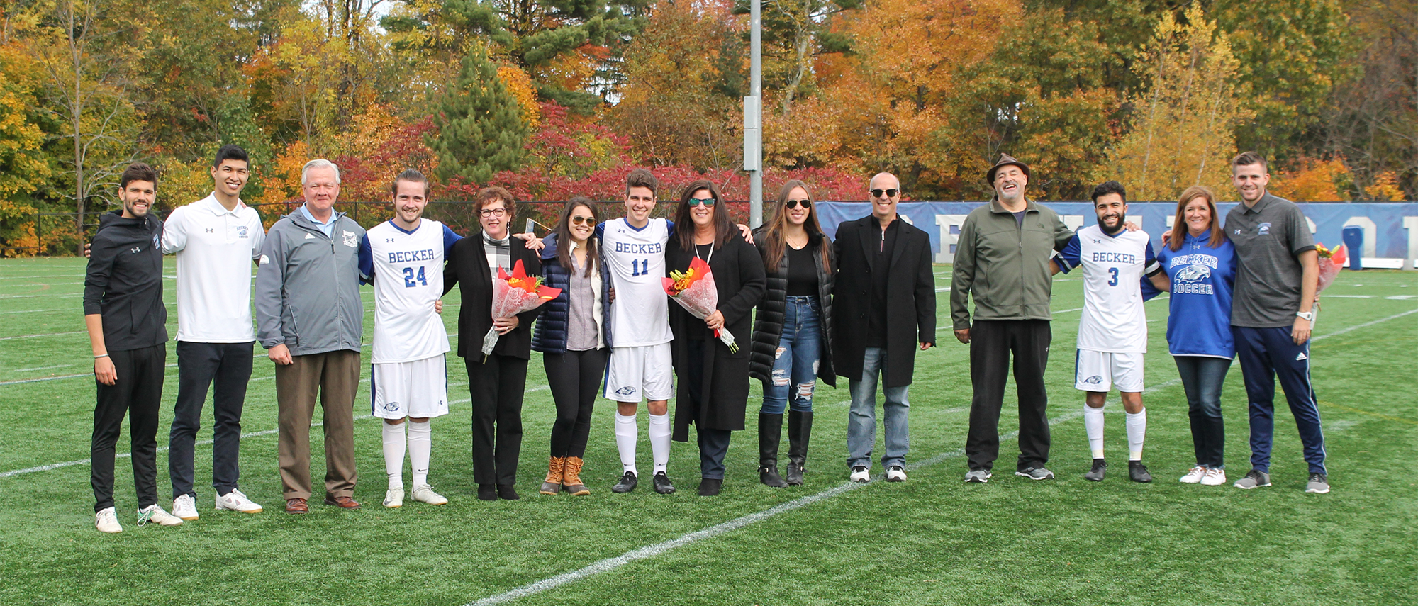 Becker Men's Soccer Senior Day