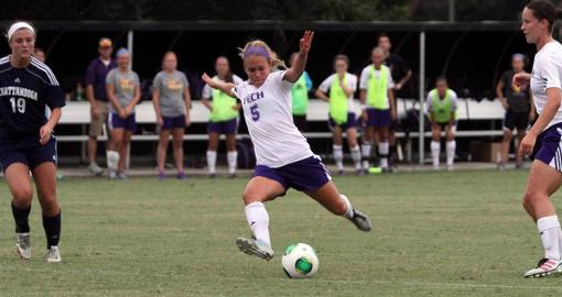 Tech soccer team cools off scorching SIUE to begin OVC campaign