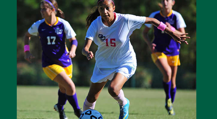 Dalton Breaks Assist Record, GC Soccer Battles to 2-2 Draw with Montevallo