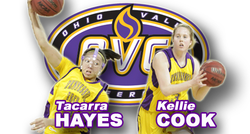 Hayes named first-team all-OVC; Kellie Cook earns all-newcomer team honors
