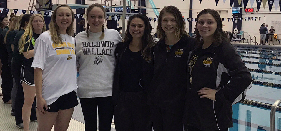 All-OAC performers on final day Olivia Jacob, Bella Ratino, Allie Thorson, Madeleine Pierce and Lauren Franz