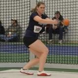 Westfield State's Gricus Earns All-America Honors With Runner-Up Finish In Weight Throw At 2012 NCAA Division III Women's Indoor Track & Field Championships