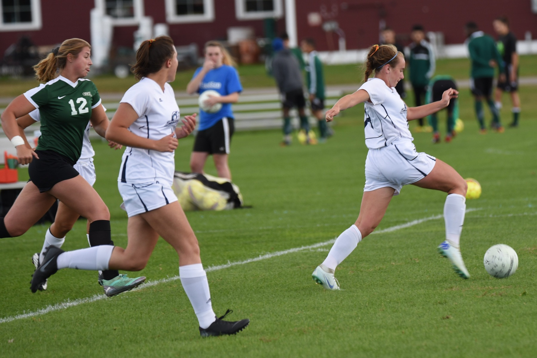 Women Get Back In W Column, Rout Massasoit 6-1