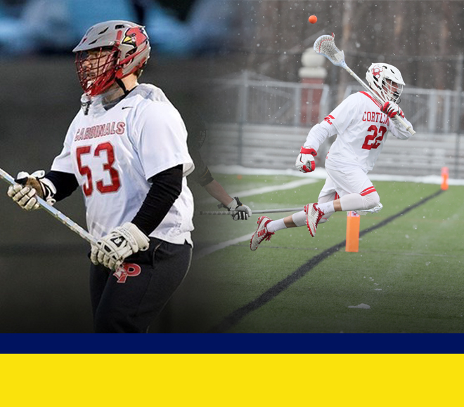 Phelps and Tesoriero selected as Men's Lacrosse Athlete and Goalie of the Week