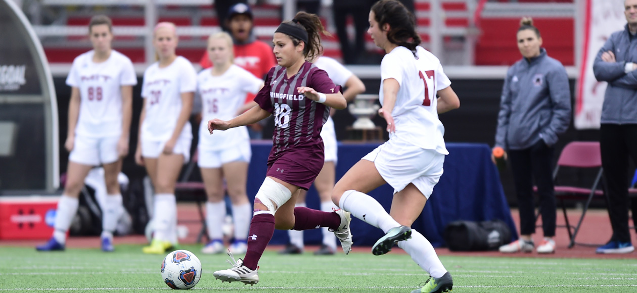 Quiles Nets Four Goals To Fuel Women's Soccer's 5-0 Win Over Marywood In ECAC Quarterfinals