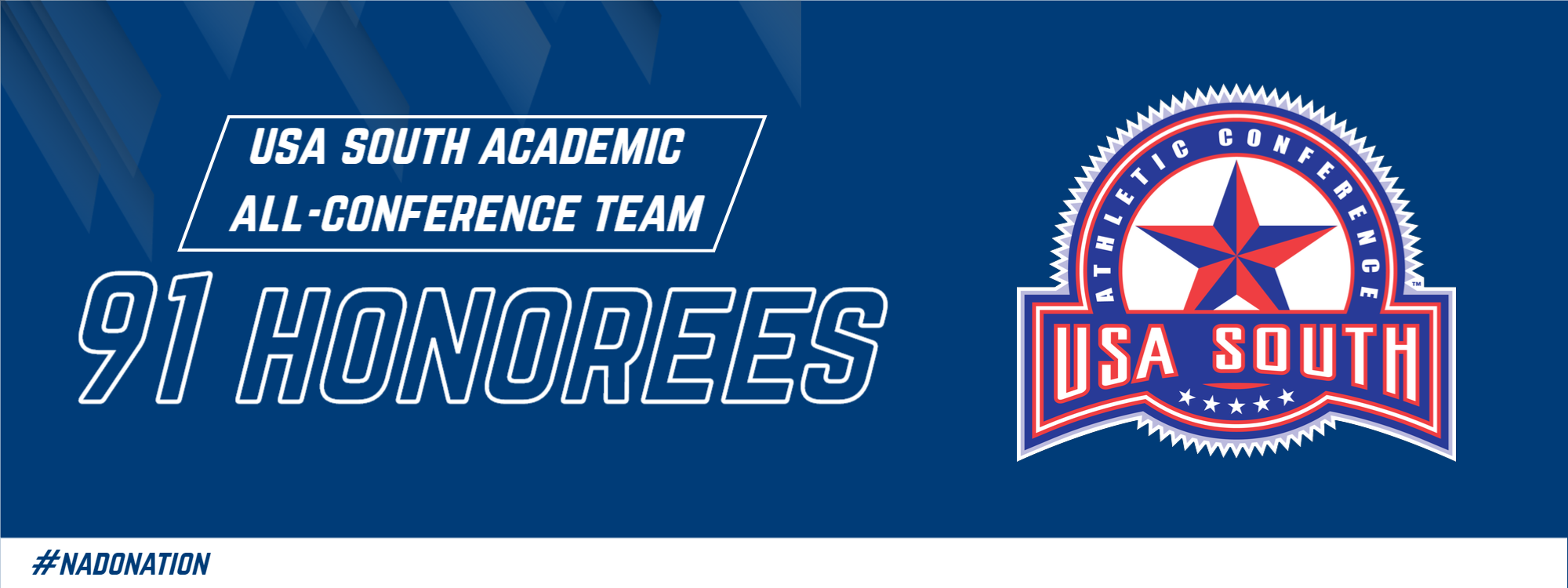 91 Brevard College Student-Athletes Named USA South Academic All-Conference
