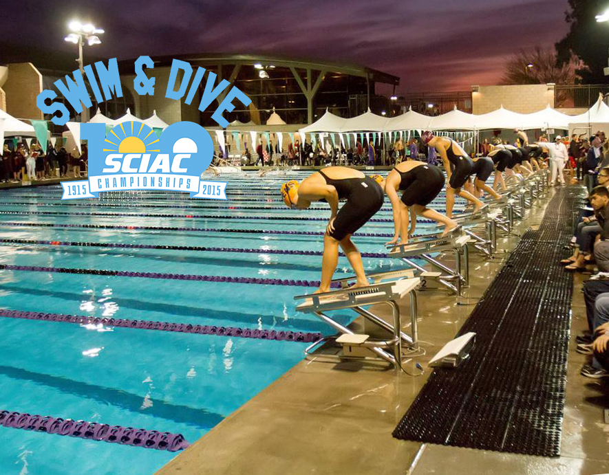 Lovrensky defends 100 back, more records fall at SCIAC