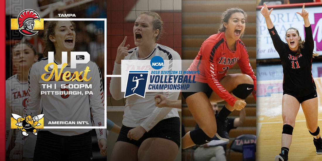 Tampa Faces No. 8 American International College in NCAA Quarterfinal
