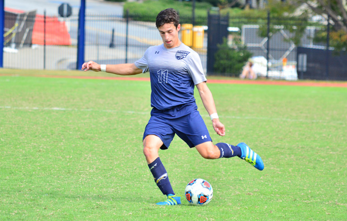 Men's Soccer Runs Unbeaten Streak to Five with 4-0 Victory at Covenant