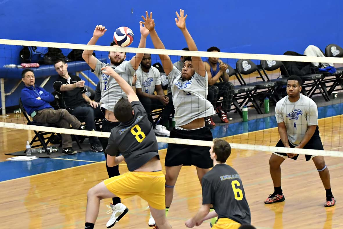 Men's Volleyball Blanked at Home by Mount Ida in Conference Play