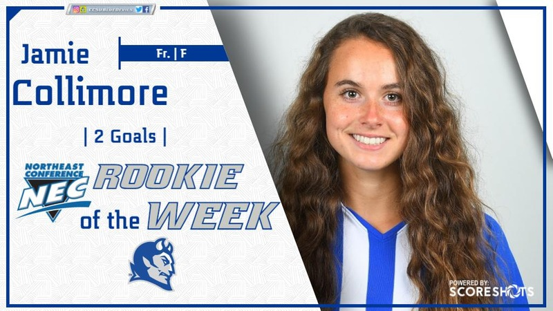 Collimore Named Rookie of the Week