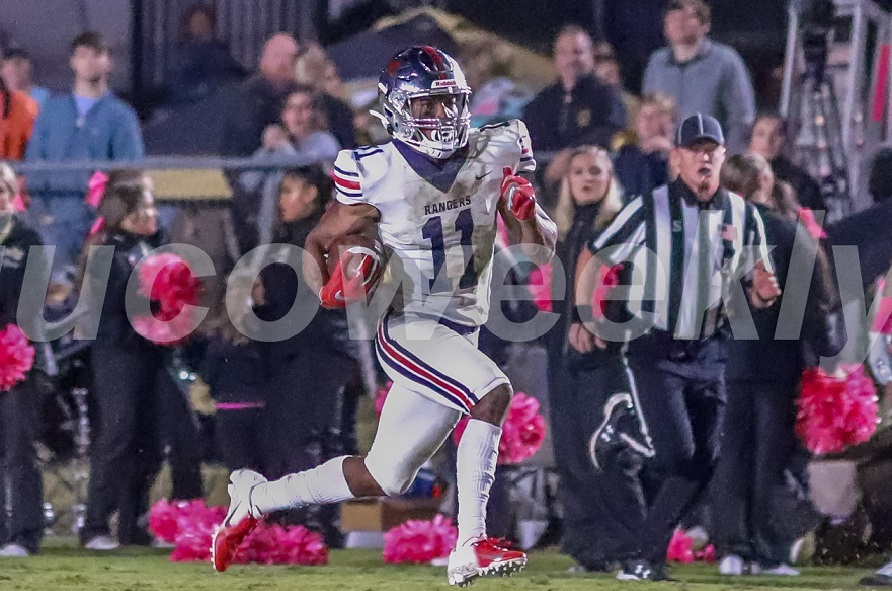 Northwest sophomore receiver Braden Smith (11)  has been named Offensive Player of the Week by both the MACJC and NJCAA, the two organizations announced this week.  Photo JUCOWeekly