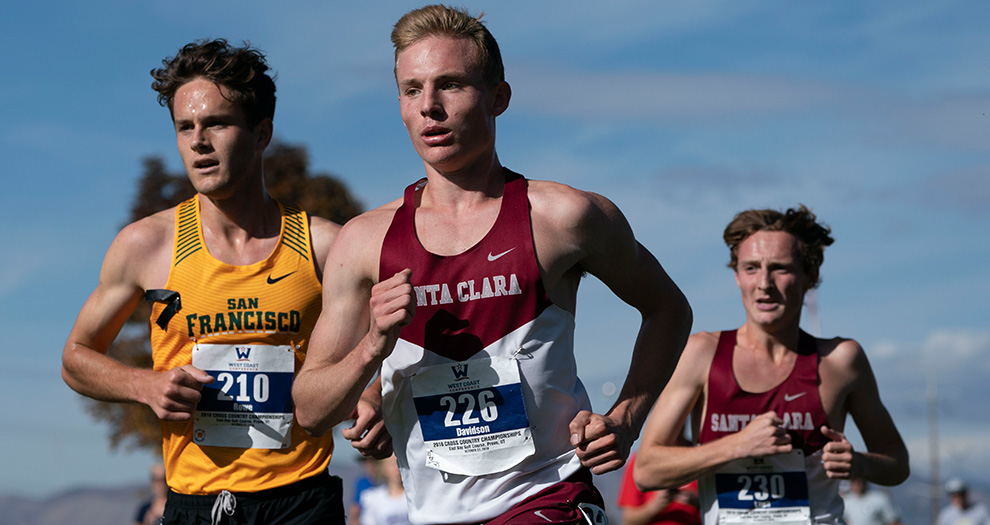 Jack Davidson led the Broncos for the second straight meet on Friday, posting a 66th-place finish. (Photo: West Coast Conference)