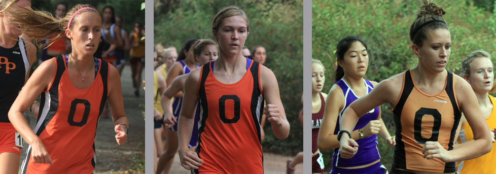 Women's cross country competes at Pomona-Pitzer Invitational
