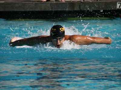 Swimming & Diving Sweep Cross Street Rivals