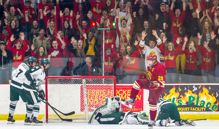 Saturday's Final CCHA Home Game SOLD OUT; Limited Tickets Remain For Friday's Game