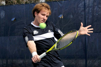 #30 men's tennis splits singles, but falls in doubles to #17 CMU