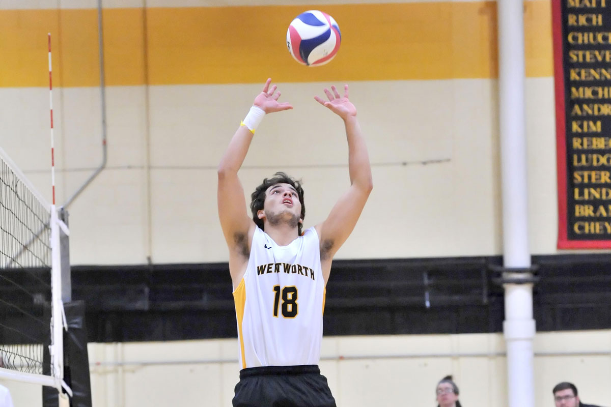 Men's Volleyball Falls To Lasell In Five Sets