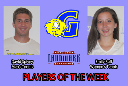 Landmark Recognizes Pair of Tennis Players from Goucher