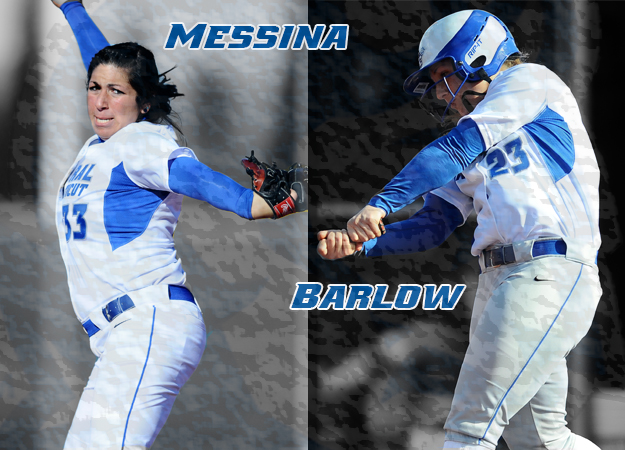 Barlow and Messina Earn Weekly Honors